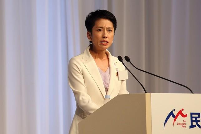 蓮舫氏の代表就任は台湾でも大きく伝えられた