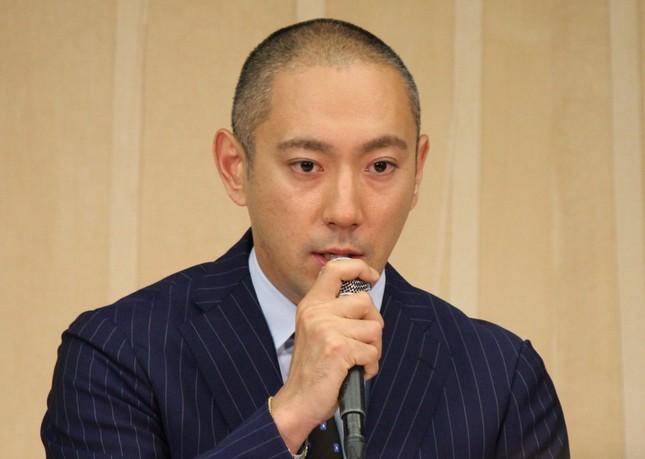 2016年6月に会見を開いた市川海老蔵さん(写真は会見時)