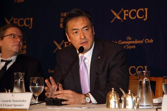 ローソンの玉塚元一CEO(写真は16年2月撮影)