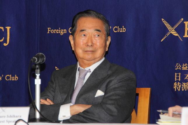 石原慎太郎・元東京都知事が謝罪した(写真は16年5月撮影)