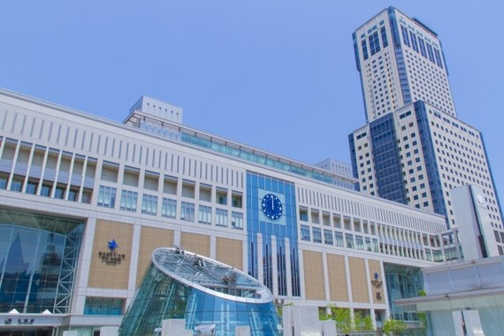 札幌、仙台、広島、福岡の地価上昇が目立った(写真は札幌駅)