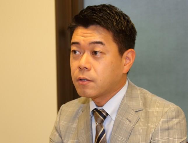 長谷川豊さん(2016年9月24日撮影)