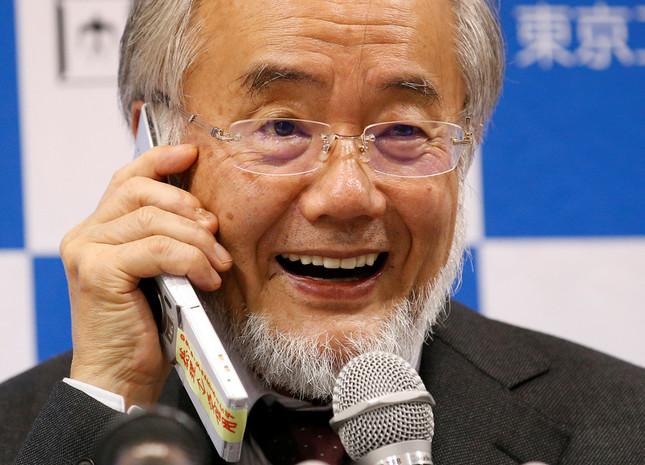 大隅氏が「栄誉教授」になったのは2014年(写真:ロイター/アフロ)