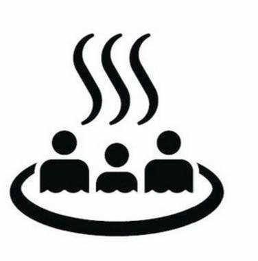 ISOの制定した「温泉マーク」