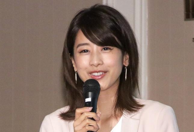 カトパンこと加藤綾子さん(2016年9月撮影)