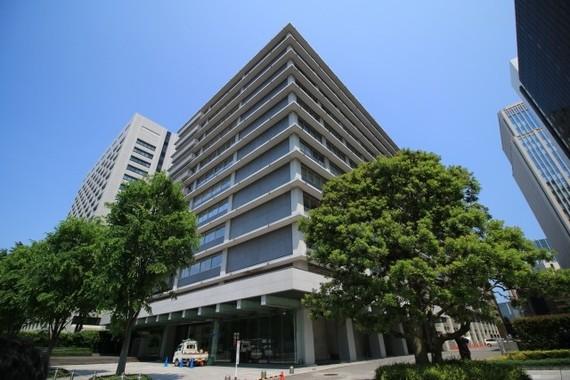 日本郵政グループの本社ビル