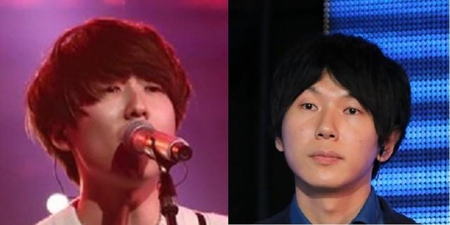 川谷絵音さん(左、2015年12月29日撮影)と古市憲寿さん(右、2016年6月19日撮影)は似ているか?