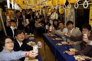 京急、2時間限定の特別ルート キリンと組んだ「ビール電車」完売