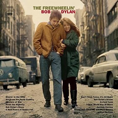 代表曲「風に吹かれて」を収めたボブ・ディランさんのアルバム「フリーホイーリン・ボブ・ディラン」(1963年)