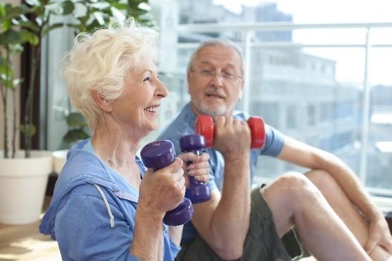 体を動かすことも長寿の秘訣