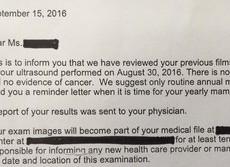 【女の相談室】米国乳がん検診体験記(最終回) またも「再診」、主治医が告げた結果は