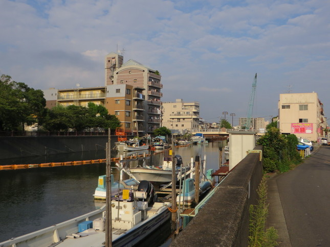 ロケ地に使われた呑川新橋(2016年9月2日、Jタウンネット編集部撮影)