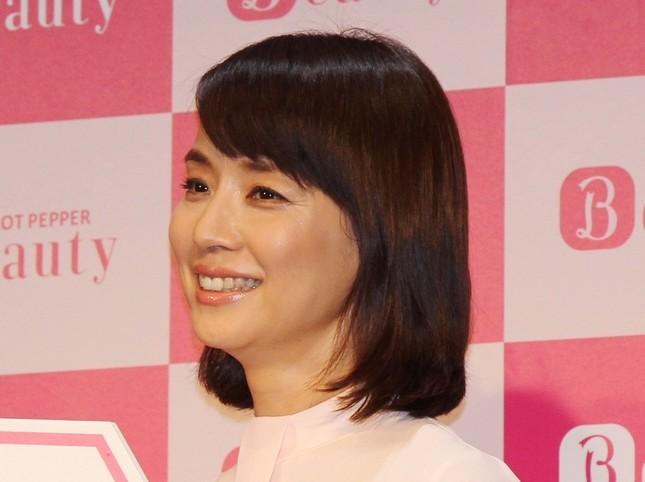 森山みくりの叔母役を演じる石田さん(2015年撮影)