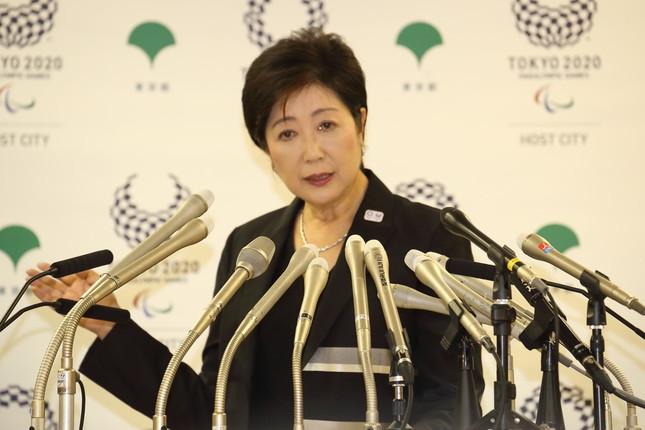 小池知事は8月31日の会見で移転延期を表明していた