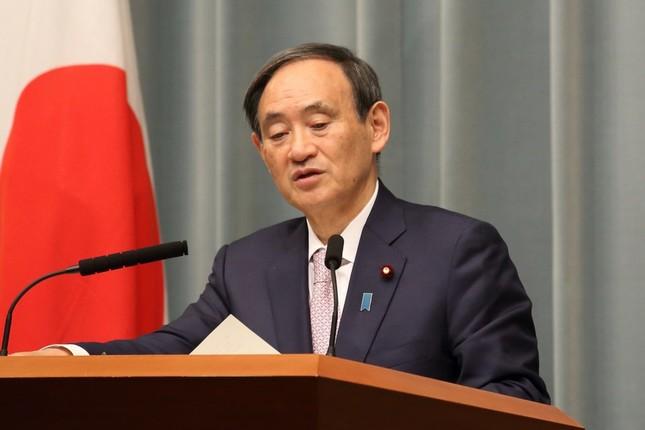 菅義偉官房長官は「東京都が主体的に対応すると思う」と述べた