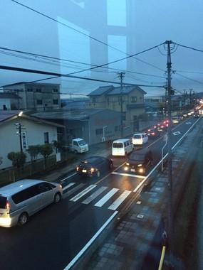 車の列はどこまで続く?(写真は@tomokichi1518さん提供)