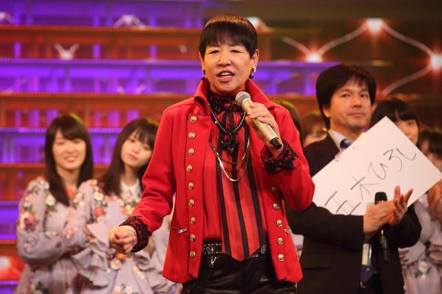 和田アキ子さんの40回目の出場はならなかった(写真は2015年のリハーサル)