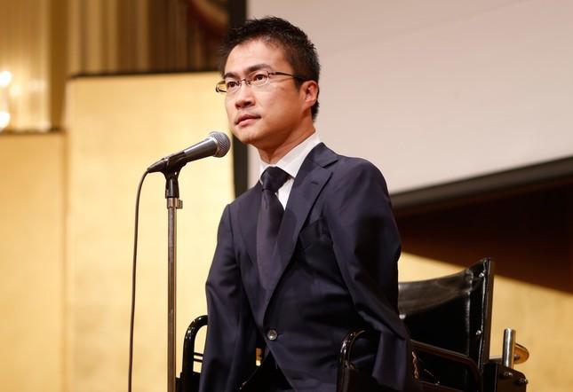 9か月ぶりにテレビ出演した乙武洋匡氏(写真は2016年4月撮影)