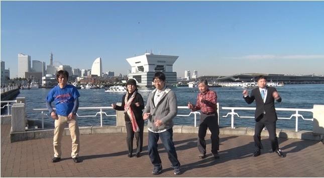 神奈川の会のメンバーの踊り(日本肺がん患者連絡会のウェブサイトより)