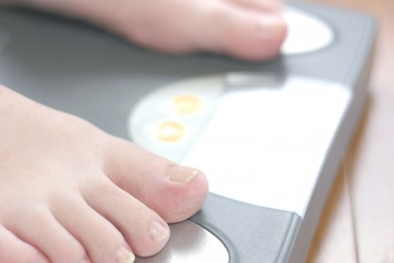 体重の変化はゆっくりと