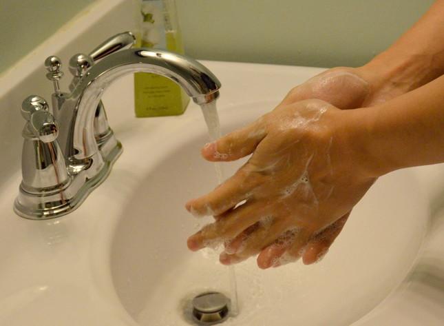 厚生労働省は手洗いの徹底を呼びかけている