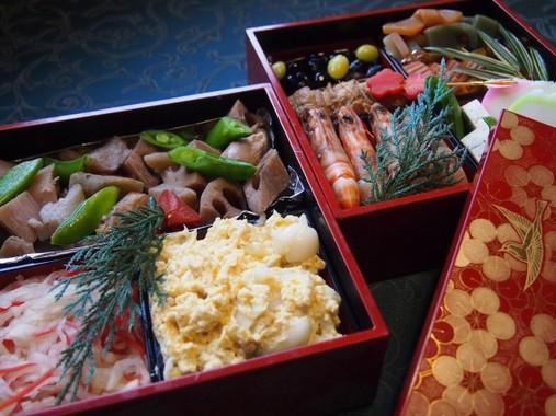 お正月のお楽しみ、おせち料理