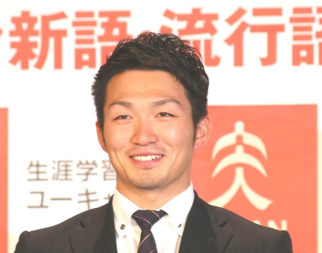 カープの鈴木誠也選手(写真は2016年12月1日撮影)