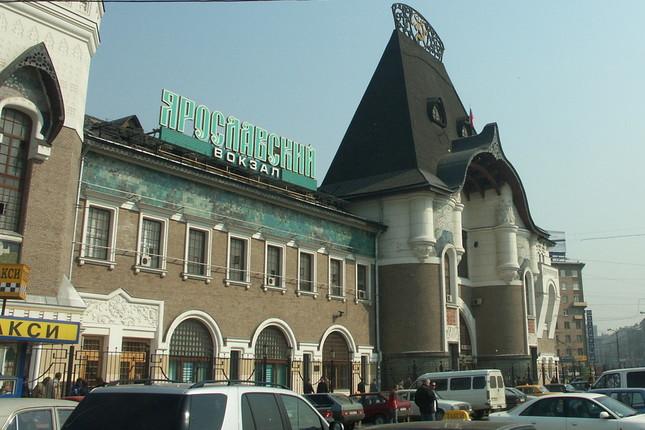 シベリア鉄道は北海道まで直通するのか(写真はシベリア鉄道が発着するモスクワ・ヤロスラフスキー駅)