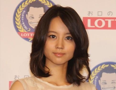第1子を出産した堀北さん(2010年7月撮影)