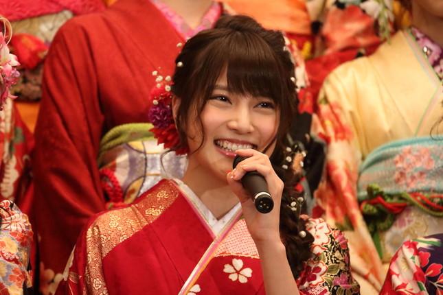 入山杏奈さんの「ドS」なツイートにファンは…(16年1月撮影)