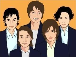 SMAPの5人