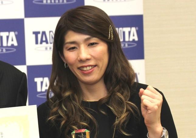「応援してほしいスポーツ選手」女性トップの吉田沙保里選手(写真は2016年12月撮影)