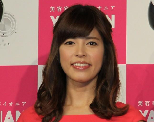 日村さんと交際中の神田愛花アナ(2015年6月撮影)
