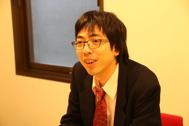 「囲碁界はAIを活用する道を示す必要がある」(大橋拓文六段:2017年1月5日撮影)