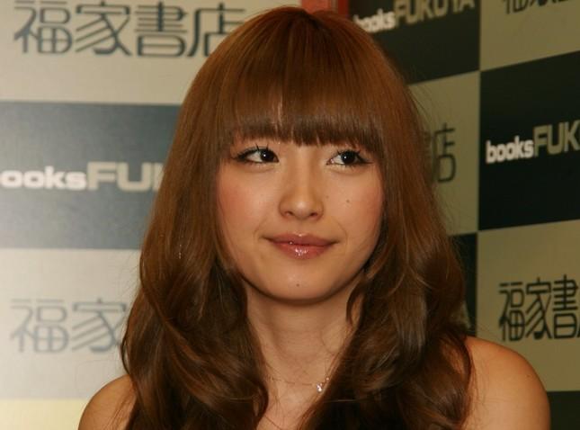 20歳当時の木下優樹菜さん(2008年撮影)