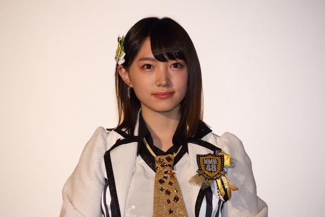 NMB48の太田夢莉さんは「1万年に1人の美少女」と呼ばれることがある(2016年1月撮影)