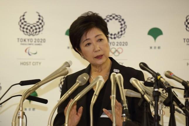 小池百合子知事は訴訟対応を検証する考えを表明した(2016年8月撮影)