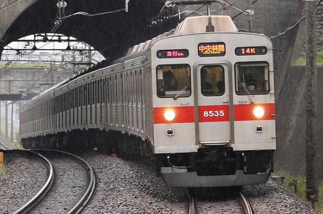 連日の遅延が報告されている東急田園都市線