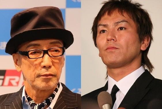 テリー伊藤さん(左)と狩野英孝さん(右)