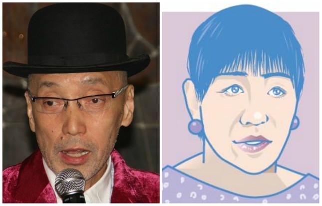 テリー伊藤さんと和田アキ子さん