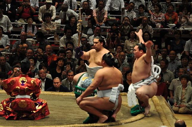 相撲界を席巻した四字熟語ブームとは(写真は両国国技館。Wikimedia Commonsより)