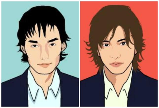 草なぎさんと木村さん