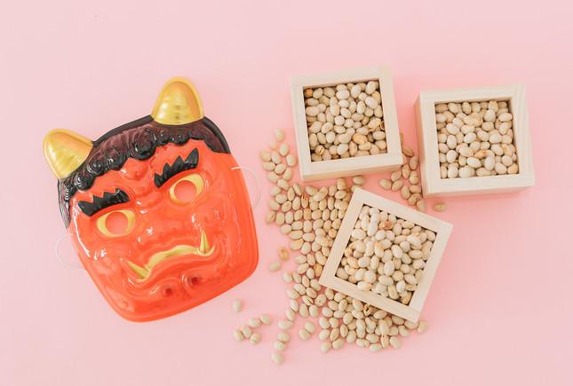 節分豆の窒息に注意
