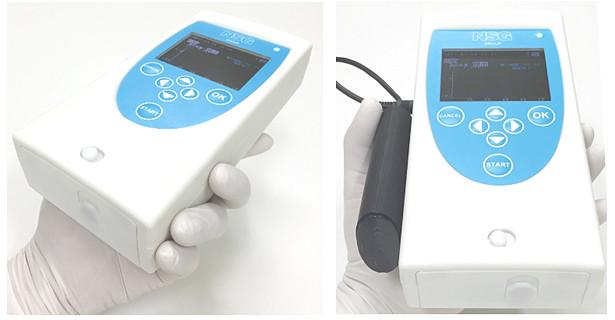 手のひらサイズの遺伝子検査器(産総研プレスリリースより)