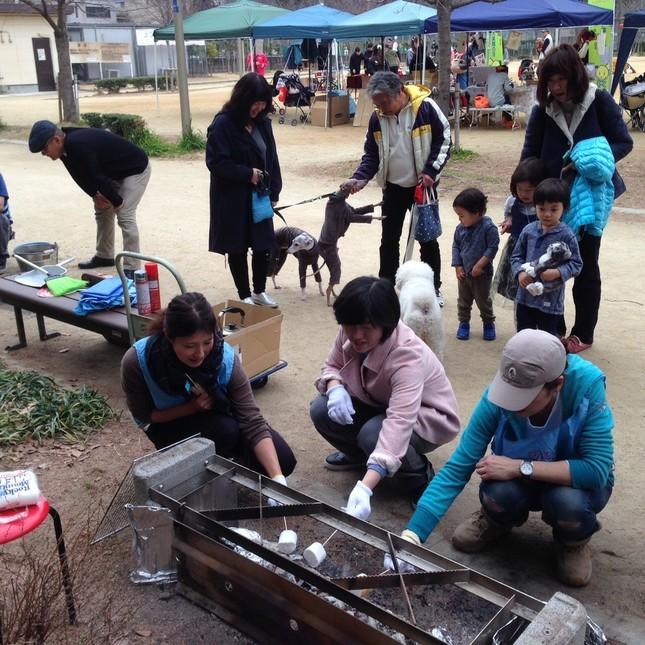 昨年のペット同行避難のイベント(NPO法人『靱公園くらしとみどりネットワーク提供』
