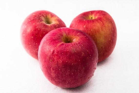 リンゴの食べ方にひと工夫を