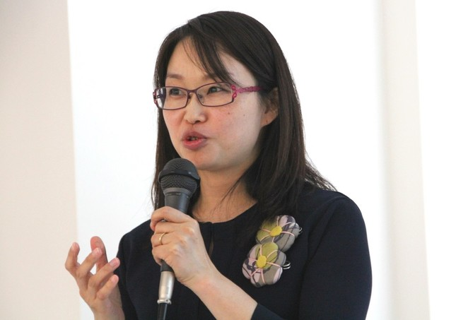 産婦人科医の宋美玄さんが「女性の体と性」についてセミナーを行った