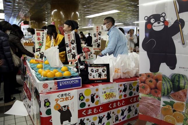「熊本産直市」は2月3日まで開かれる