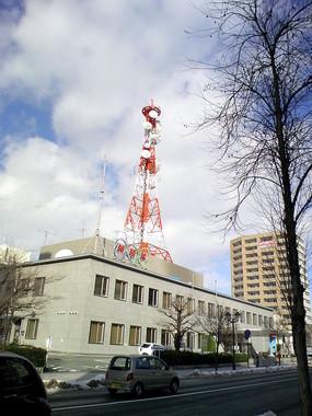 NHK記者が強姦致傷などの容疑で逮捕(画像はNHK山形放送局)