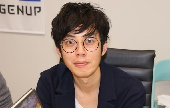 「炎上王」もほっと一安心(2016年11月撮影)